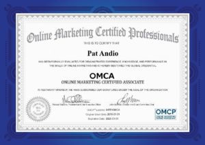 Digital Marketing Certificate Sample