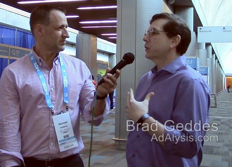 Brad Geddes shares PPC best practices with with OMCP at SMX 2017