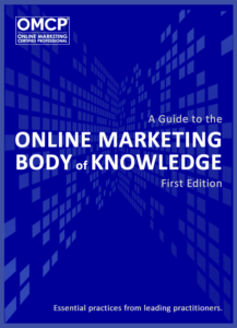 Online Marketing Body of Knowledge from OMCP