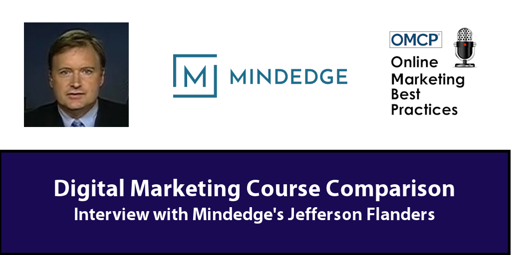 Digital Marketing Course Comparison MindEdge