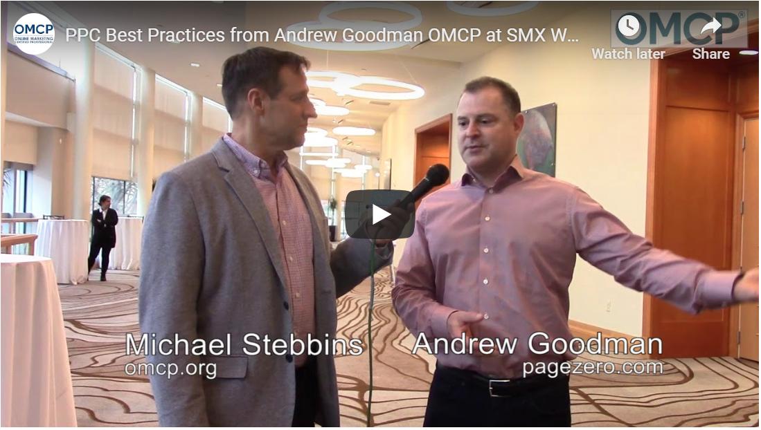 Andrew Goodman Page Zero OMCP Best Practices