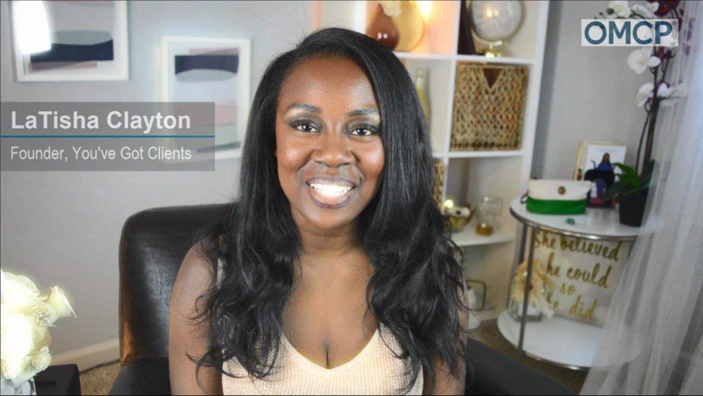 LaTisha Styles Clayton OMCP encourages candidate
